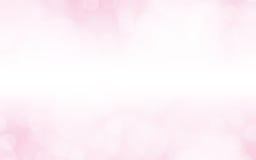 Rosa unscharfer Hintergrund Stockfotografie