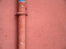 rosa vägg Arkivfoton