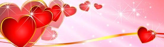 Rosa valentin dag Royaltyfri Bild