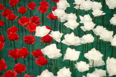 Rosa valentindag Arkivbild