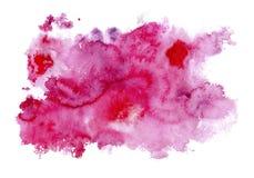 rosa vattenfärg för bakgrund Royaltyfri Foto