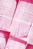 rosa vattenfärg för bakgrund Royaltyfri Bild