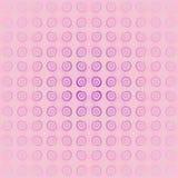 Rosa violett suddigt för sömlös spiral modell Fotografering för Bildbyråer