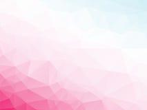 Rosa violetter weißer blauer Hintergrund Stockbild