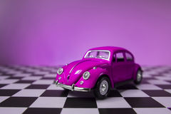 Rosa VW Käfer Lizenzfreie Stockfotos