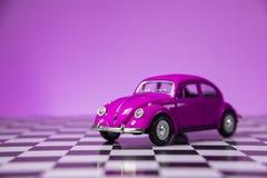 Rosa VW Käfer Lizenzfreies Stockfoto