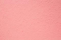 Rosa Wandhintergrund Stockbilder