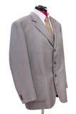 Rosa woolen omslag med skjortan och isolerat band Arkivbilder