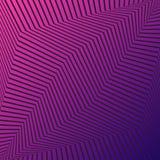 Rosa y fondo abstracto geométrico púrpura con las líneas negras Vector stock de ilustración