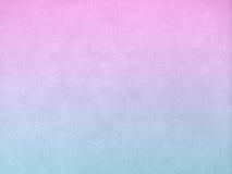 Rosa y textura abstracta azul del fondo de la pared Fotografía de archivo