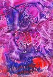 Rosa Zusammenfassung Lizenzfreies Stockfoto