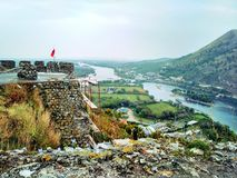 Rosaaf fortress royalty free stock photography