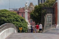 住处Rosada后面门面阿根廷 免版税库存图片
