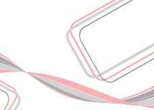 Rosafarben-grauer Hintergrund Lizenzfreies Stockbild