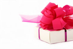 Rosafarben wenig Geschenk Stockfotografie