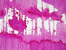 Rosafarbene Aquarell-Beschaffenheiten 7 Lizenzfreie Stockfotografie