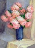 Rosafarbene Astern Stockbilder