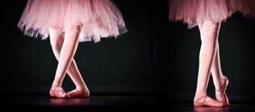 Rosafarbene Ballerina Stockbilder