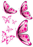 Rosafarbene Basisrecheneinheits-Abbildung Lizenzfreie Stockfotografie