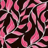 Rosafarbene Blätter Lizenzfreie Stockbilder