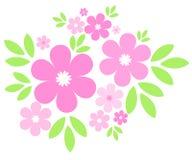 Rosafarbene Blumen Lizenzfreie Stockfotos
