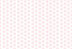 Rosafarbene Blumen auf einem weißen Hintergrund Stockbilder