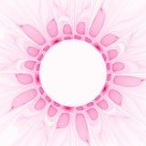 Rosafarbene Blumenblätter Lizenzfreies Stockbild