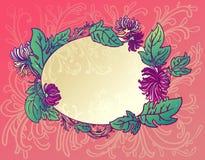 Rosafarbene Blumenchrysantheme des Hintergrundes Lizenzfreie Stockbilder