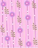 Rosafarbene Blumenprobe Lizenzfreies Stockfoto