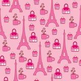 Rosafarbene elegante helle Tapete Stockbilder