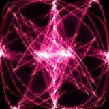 Rosafarbene Energie Stockfoto