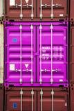 Rosafarbene Farbe des Behälters Lizenzfreie Stockfotos