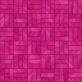 Rosafarbene Fliesen Stockfotografie