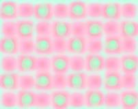 Rosafarbene grüne Unschärfenhintergrundtapete Lizenzfreies Stockbild