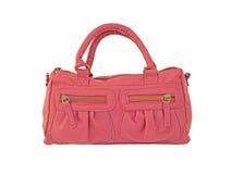 Rosafarbene Handtasche Lizenzfreies Stockfoto