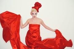 Rosafarbene Hexe des Rotes Lizenzfreie Stockfotografie