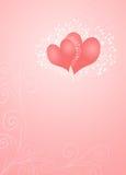 Rosafarbene Innere Stockfoto