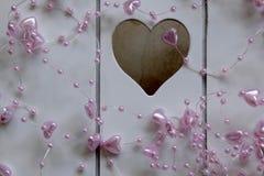 Rosafarbene Innere auf einem weißen Hintergrund Stockfotografie