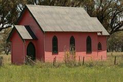Rosafarbene Kirche Stockfotografie