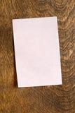 Rosafarbene klebrige Anmerkung Lizenzfreie Stockbilder