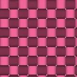 Rosafarbene Korb-Beschaffenheit Lizenzfreie Stockbilder