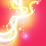 Rosafarbene Liebe Stockfoto