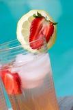 Rosafarbene Limonade Lizenzfreies Stockfoto