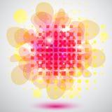 Rosafarbene Luftblase lizenzfreie abbildung