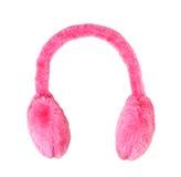 Rosafarbene Ohrenschützer Stockbilder