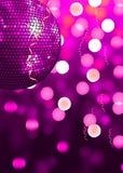 Rosafarbene Party Stockfotografie