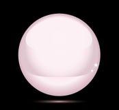Rosafarbene Perle (Vektor) Lizenzfreies Stockfoto