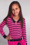 Rosafarbene Prinzessin Stockfotos