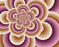 Rosafarbene Regelkreise Stockfoto