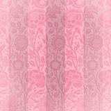 Rosafarbene Samt-Streifen Stockfoto